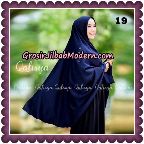 Jilbab Khimar Ziya Original By Qalisya Hijab Brand No 19