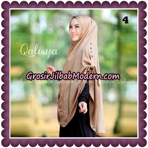 Jilbab Khimar Ziya Original By Qalisya Hijab Brand No 4