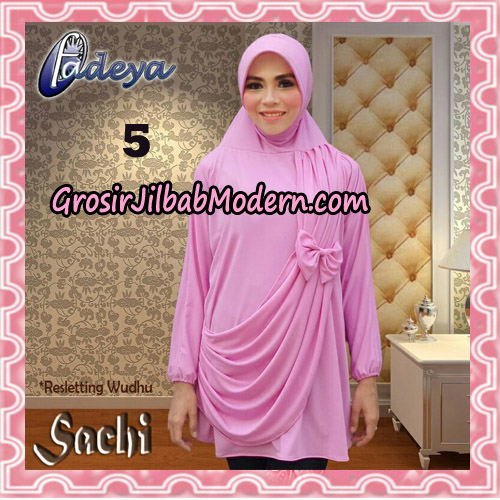 Jilbab Lengan Tunik Sachi Original By Fadeya Brand No 5