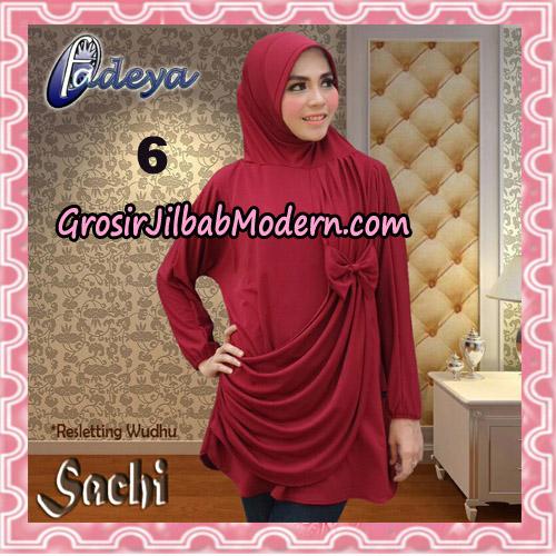Jilbab Lengan Tunik Sachi Original By Fadeya Brand No 6