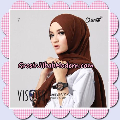 Jilbab Pashmina Jasmine Viscose Support Oneto Hijab No 7
