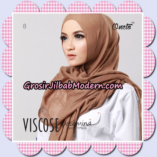 Jilbab Pashmina Jasmine Viscose Support Oneto Hijab No 8