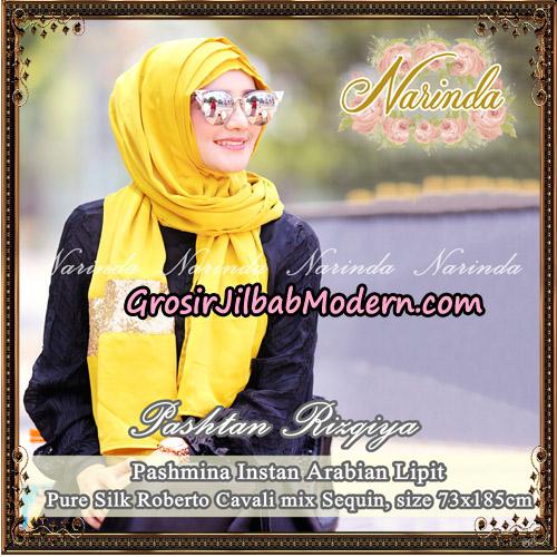 Jilbab Pashtan Rizqiya Original By Narinda Hijab - Detail