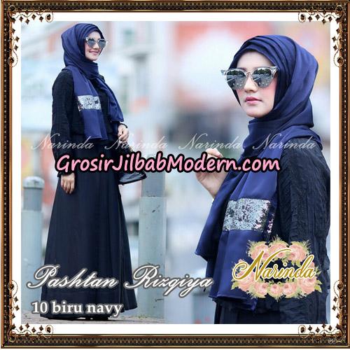 Jilbab Pashtan Rizqiya Original By Narinda Hijab No 10