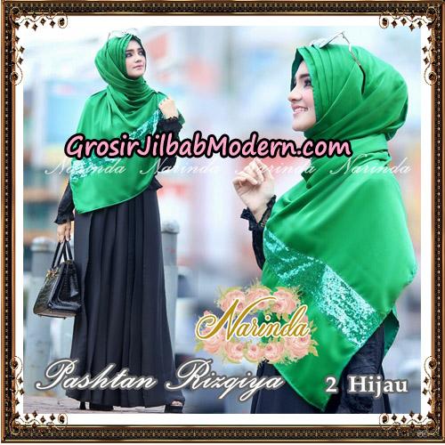 Jilbab Pashtan Rizqiya Original By Narinda Hijab No 2
