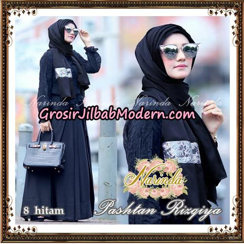 Jilbab Pashtan Rizqiya Original By Narinda Hijab No 8