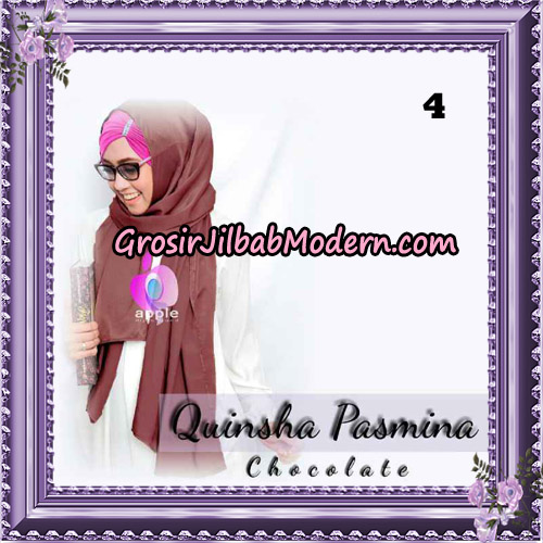 Jilbab Quinsha Pasmina Cantik By Apple Hijab Brand No 4