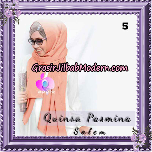 Jilbab Quinsha Pasmina Cantik By Apple Hijab Brand No 5