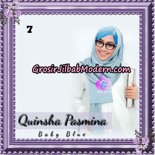 Jilbab Quinsha Pasmina Cantik By Apple Hijab Brand No 7
