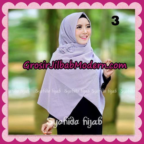 Jilbab Segi 4 Monochrome Original By Syahida Hijab Brand No 3