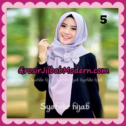 Jilbab Segi 4 Monochrome Original By Syahida Hijab Brand No 5