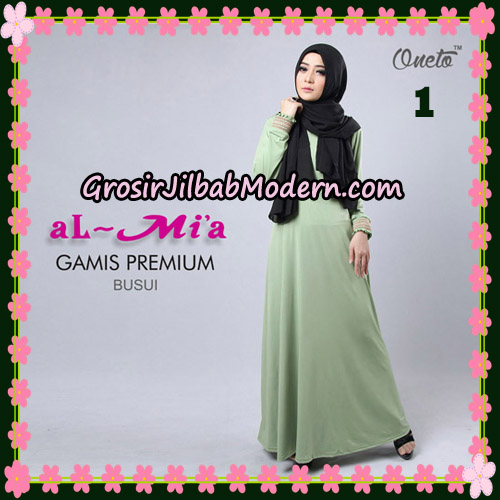 Gamis Premium Busui Cantik Original By Almia Brand No 1