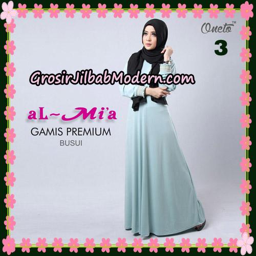 Gamis Premium Busui Cantik Original By Almia Brand No 3