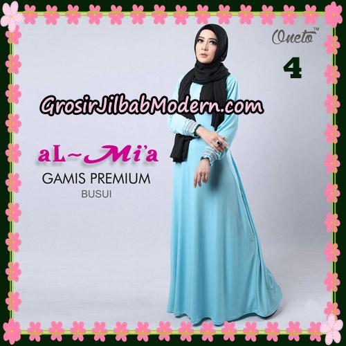 Gamis Premium Busui Cantik Original By Almia Brand No 4