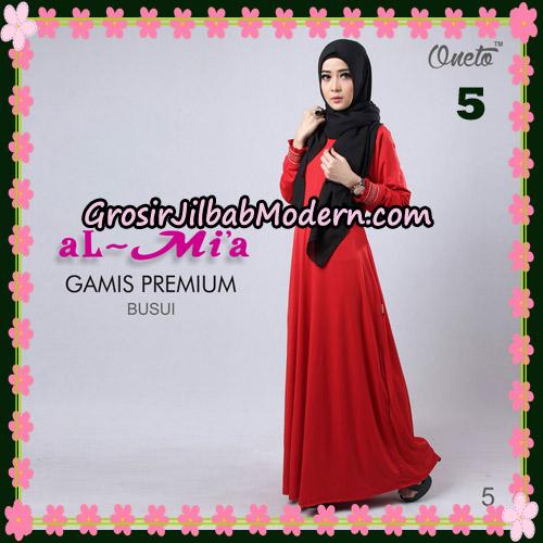 Gamis Premium Busui Cantik Original By Almia Brand No 5