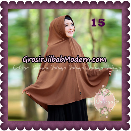 Jilbab Basic Khimar Pet Antem Exclusive Original by Qalisya No 15