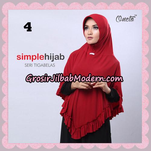 Jilbab Bergo Instant Simple Hijab Seri 13 By Firza Hijab Support Oneto No 4