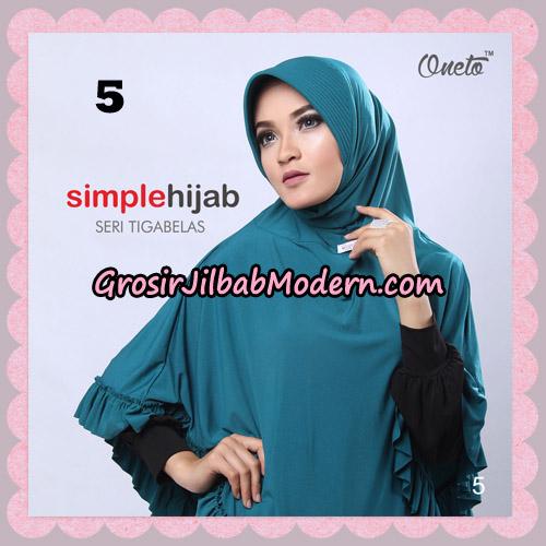 Jilbab Bergo Instant Simple Hijab Seri 13 By Firza Hijab Support Oneto No 5