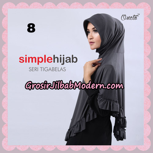 Jilbab Bergo Instant Simple Hijab Seri 13 By Firza Hijab Support Oneto No 8
