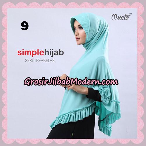 Jilbab Bergo Instant Simple Hijab Seri 13 By Firza Hijab Support Oneto No 9