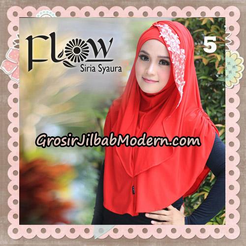 Jilbab Instant Syria Syaura Original By Flow Idea No 5