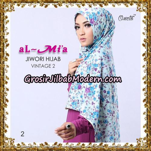 Jilbab Jersey Jiwori Hijab Vintage 2 Original By Almia Brand No 2