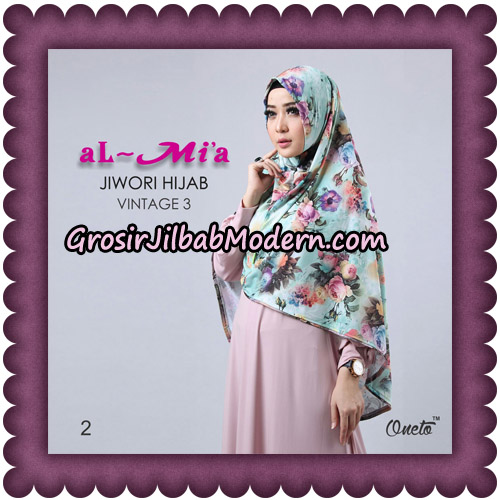 Jilbab Jiwori Hijab Vintage Seri 3 Original By Almia Brand No 2