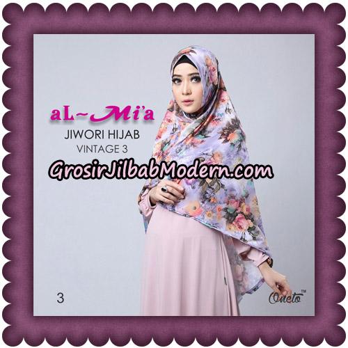 Jilbab Jiwori Hijab Vintage Seri 3 Original By Almia Brand No 3