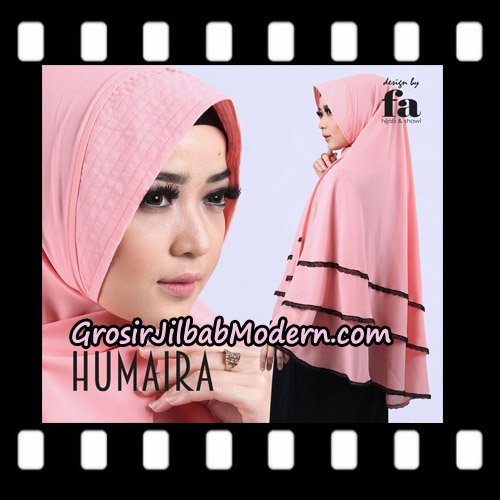 Jilbab Khimar Cerutti Humaira By Fa Hijab Support Oneto Hijab - Detail
