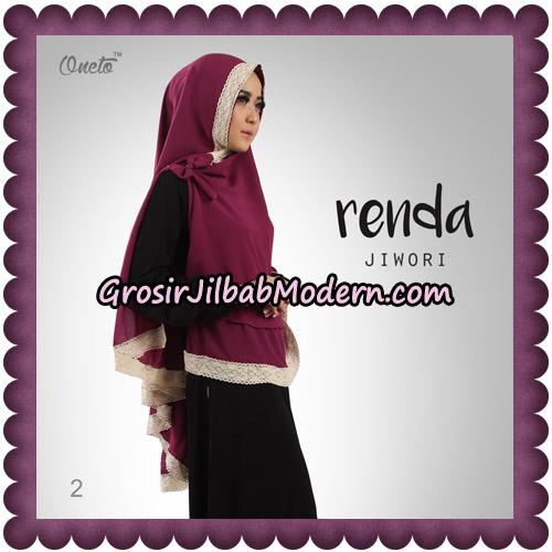 Jilbab Khimar Cerutti Jiwori Renda Original By Dhea Brand No 2