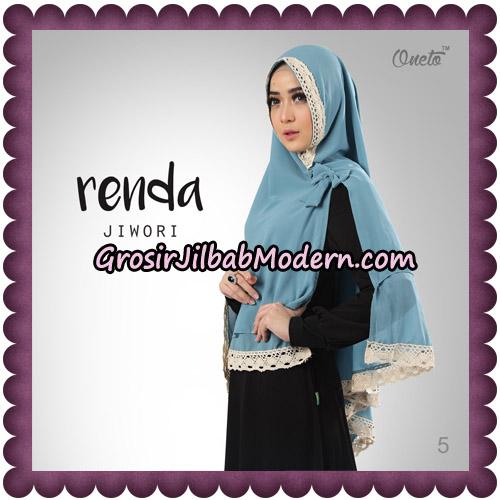 Jilbab Khimar Cerutti Jiwori Renda Original By Dhea Brand No 5