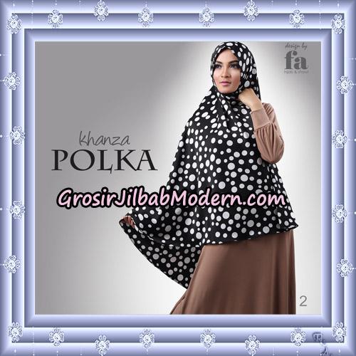 Jilbab Khimar Khanza Polka By Fa Hijab Support Oneto Hijab No 2