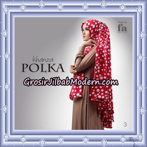 Jilbab Khimar Khanza Polka By Fa Hijab Support Oneto Hijab No 3