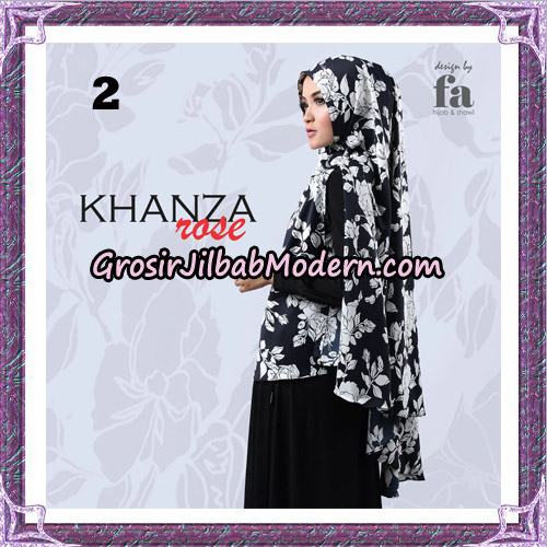 Jilbab Khimar Khanza Rose By Fa Hijab Support Oneto Hijab No 2