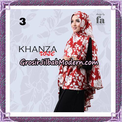 Jilbab Khimar Khanza Rose By Fa Hijab Support Oneto Hijab No 3