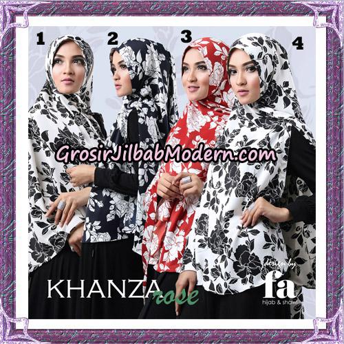 Jilbab Khimar Khanza Rose By Fa Hijab Support Oneto Hijab