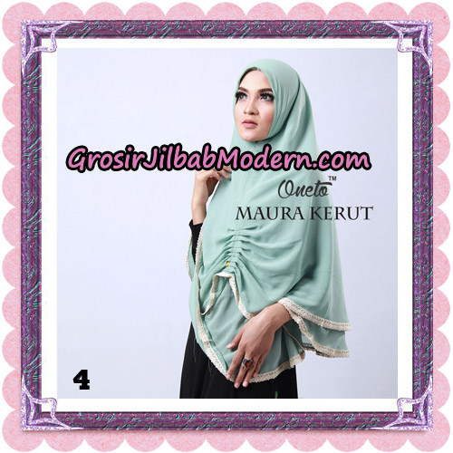 Jilbab Khimar Maura Kerut Oneto Support By Rizky Ananda No 4