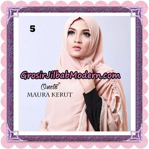 Jilbab Khimar Maura Kerut Oneto Support By Rizky Ananda No 5