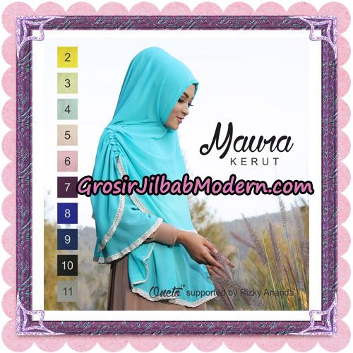 Jilbab Khimar Maura Kerut Oneto Support By Rizky Ananda