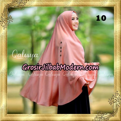 Jilbab Khimar Syari Ziya Seri 2 Original By Qalisya Hijab Brand No 10