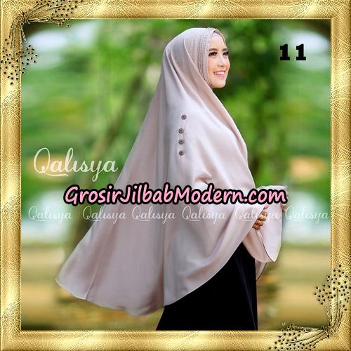 Jilbab Khimar Syari Ziya Seri 2 Original By Qalisya Hijab Brand No 11