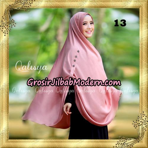 Jilbab Khimar Syari Ziya Seri 2 Original By Qalisya Hijab Brand No 13