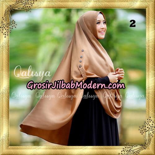 Jilbab Khimar Syari Ziya Seri 2 Original By Qalisya Hijab Brand No 2