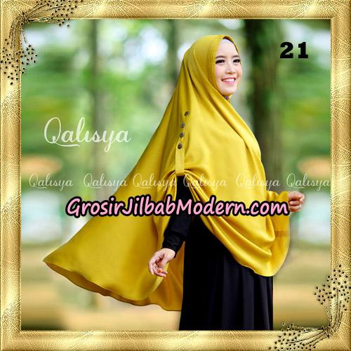 Jilbab Khimar Syari Ziya Seri 2 Original By Qalisya Hijab Brand No 21