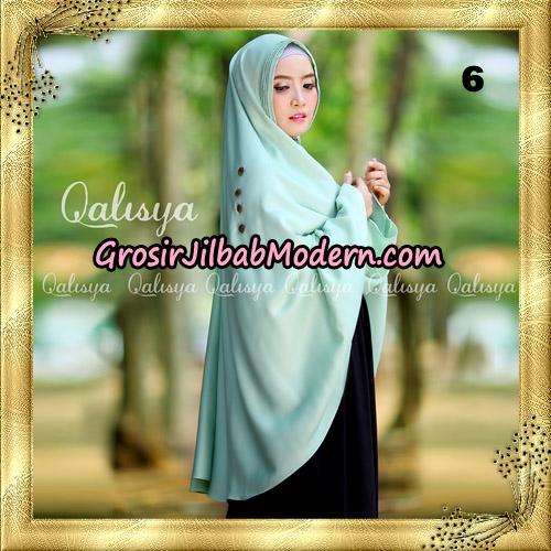 Jilbab Khimar Syari Ziya Seri 2 Original By Qalisya Hijab Brand No 6