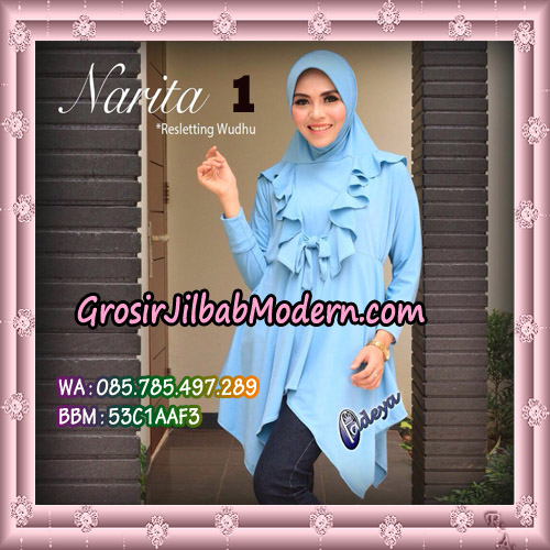 Jilbab Lengan Tunik Narita Original By Fadeya Brand No 1