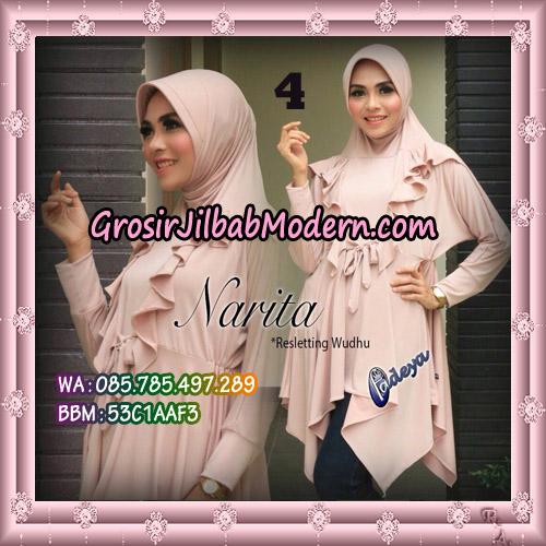 Jilbab Lengan Tunik Narita Original By Fadeya Brand No 4