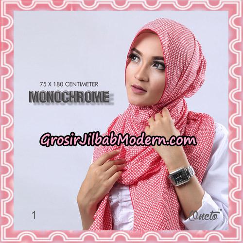 Jilbab Pashmina Anyam Original Firza Hijab Support Oneto Hijab No 1