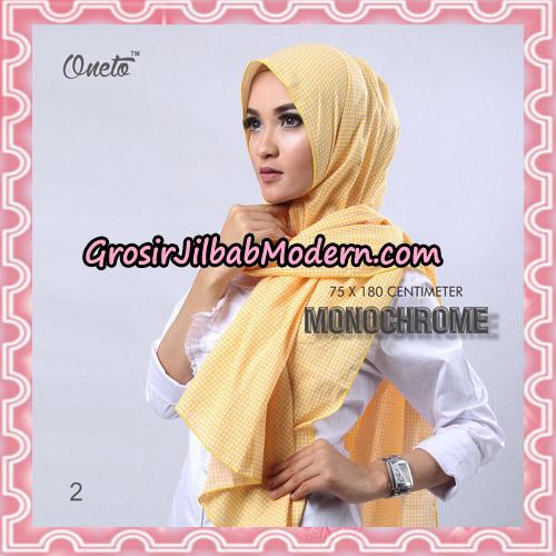 Jilbab Pashmina Anyam Original Firza Hijab Support Oneto Hijab No 2