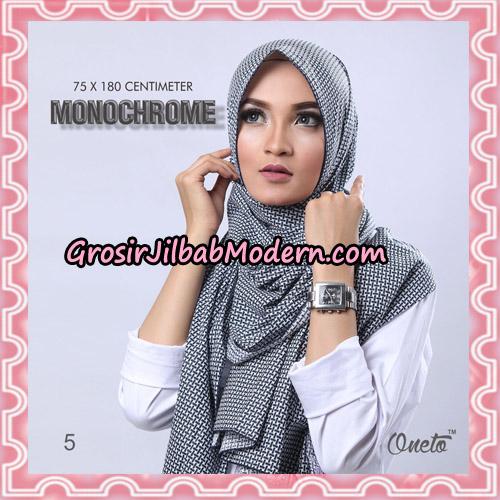 Jilbab Pashmina Anyam Original Firza Hijab Support Oneto Hijab No 5
